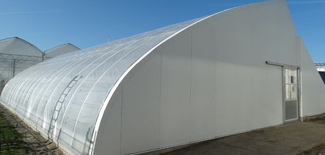 New type of greenhouse in Bleiswijk, the Netherlands