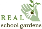 Logotype of Real school gardens